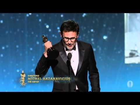Michel Hazanavicius Wins Best Director: 2012 Oscars