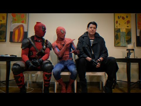 THE WAITING ROOM - EPISODE 14 - 90's Edition - Spider-man Deadpool Punisher