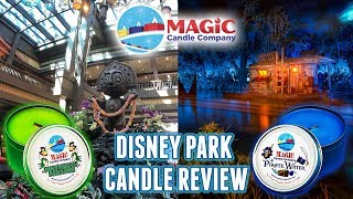 Magic Candle Company Review - Disney Park Candles?!?! Polynesian, Pirates & More!