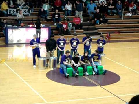 belvidere high school halftime performance