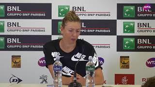 Maria Sharapova Press Conference   2018 Internazionali BNL d'Italial Semifinal