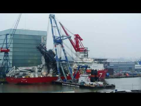Subsea 7 - Seven Waves Tower Installation Time Lapse