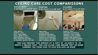 Michael Clean Ceiling Cleaning Business At a cost your can easily afford. 612-353-4029