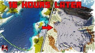 Kineticraft Timelapse - Draining an Ocean ... IN SURVIVAL thumbnail
