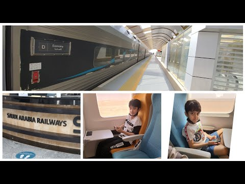 Download Part 1#Eidvlog Traveling from Riyadh to Hail in train on eid day 1