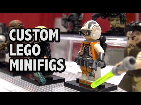 Creating Custom LEGO Minifigures | BrickFair Alabama 2017