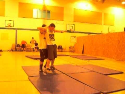Conwy County Wrestling Academy - James Voss, Stuart Brownson Grade 1 no1