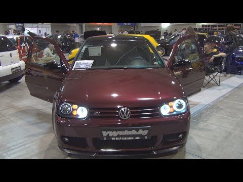 Volkswagen Golf Mk4 Bordeaux (2000) Exterior and Interior