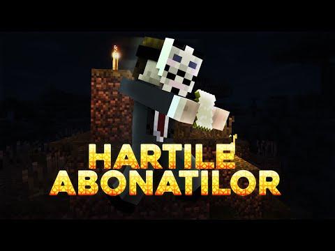 Minecraft Hartile abonatilor | Episodul 17 | PROVOCARILE PRIETENILOR