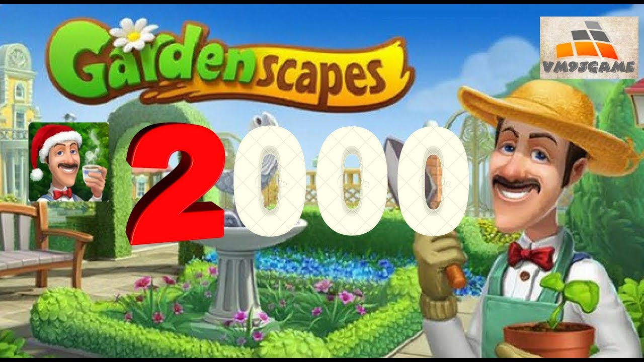 Gardenscapes Level 2000