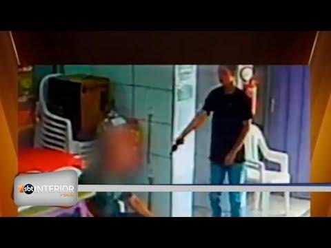 Imagens mostram assalto em sorveteria de Birigui