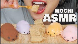 ASMR Seal + Warabi MOCHI (SOFT RELAXING EATING SOUNDS) | SAS-ASMR