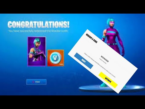 How to Get WONDER SKIN Fortnite | PS4/Xbox