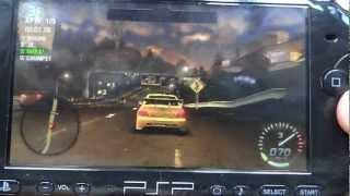 need for speed carbon на psp в Full HD 1080p