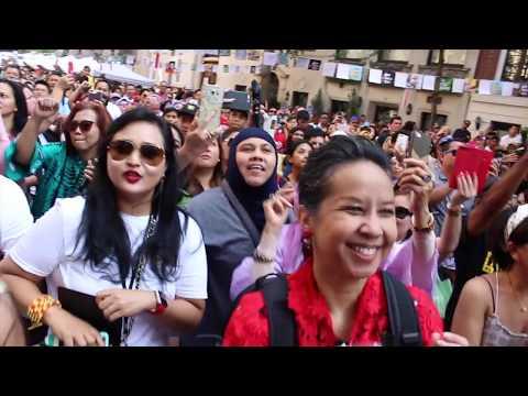 Gaya Memukau Glenn Fredly di Indonesian Street Festival 2017 NYC