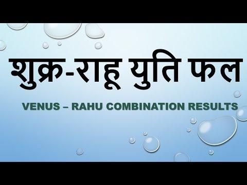 Venus and Rahu Conjunction | Shukra Aur Rahu Yuti Fal- Astro Connect