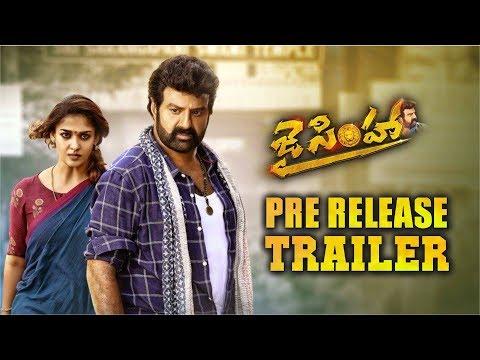 Jai Simha Pre Release Trailer    Balakrishna    KS Ravi Kumar    Nayanthara    C Kalyan