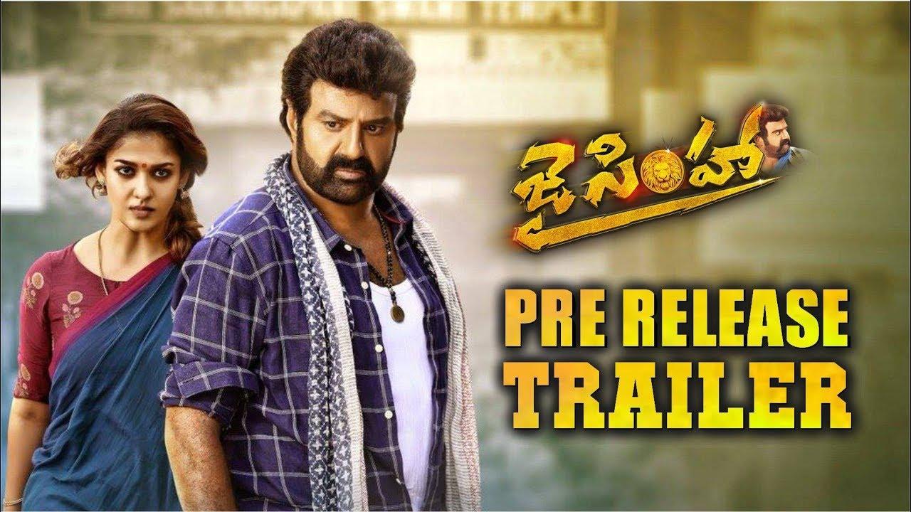 Jai Simha Pre Release Trailer || Balakrishna || KS Ravi Kumar || Nayanthara  || C Kalyan - YouTube