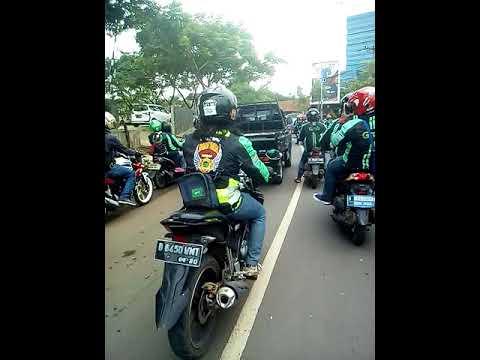 Grab Depok Bersatu_konvoi