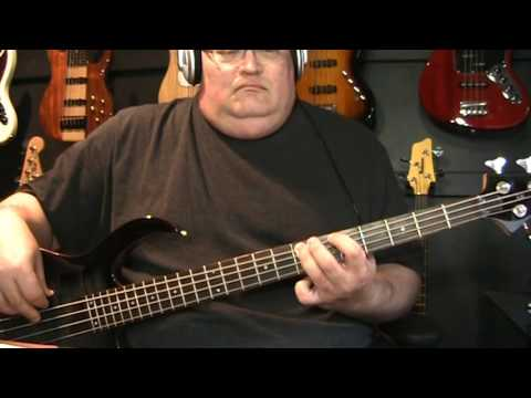 Elvis Costello Pump It Up Bass Cover With Notes & Tablature