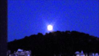 JULY 12 SUPERMOON 2014 RISE