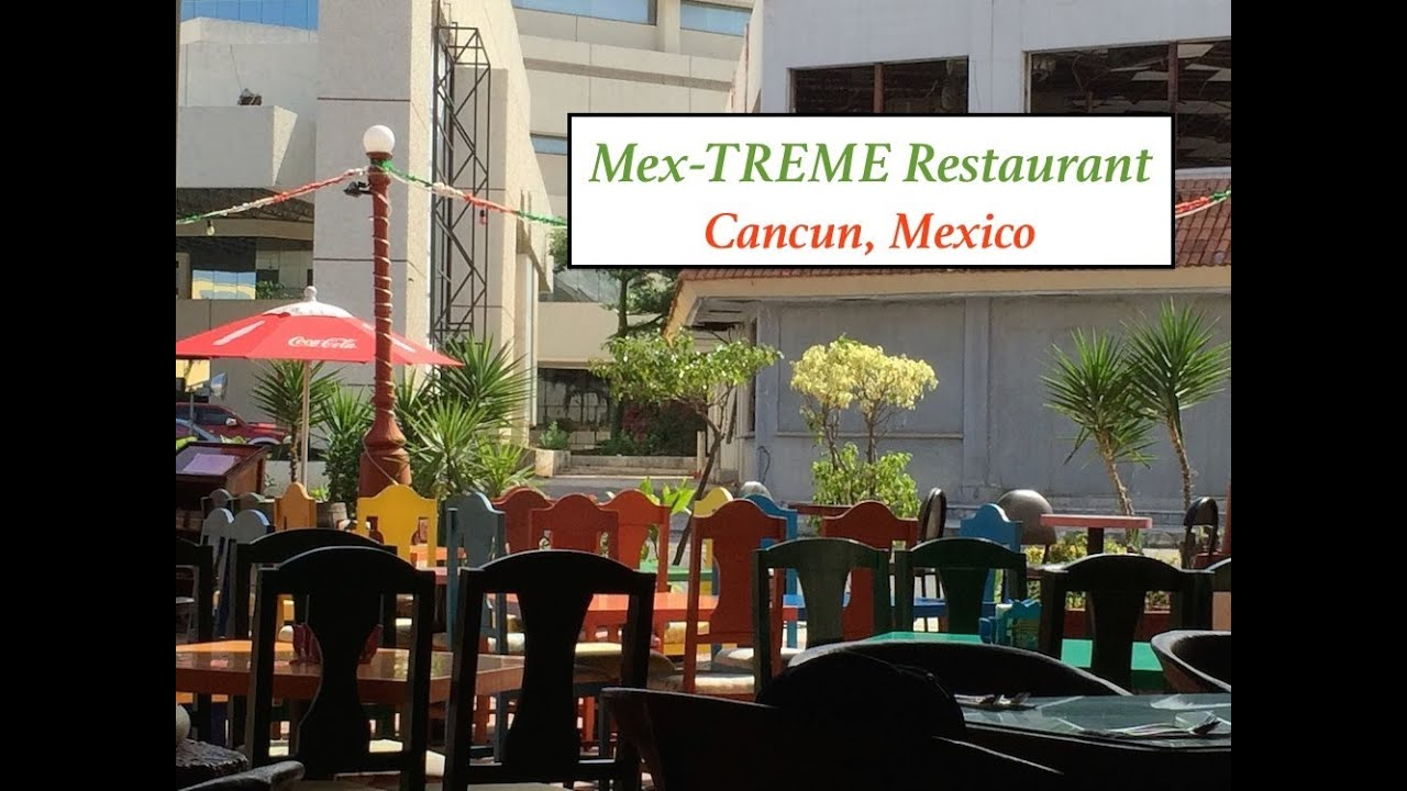 Mextreme Restaurant Cancun Mexico Youtube