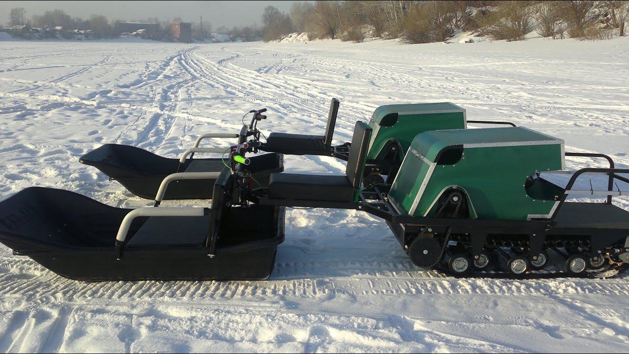 фото снегоходов самодельных