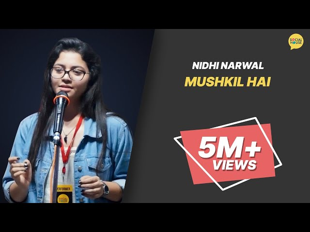 Mushkil Hai by Nidhi | ??????? ?? | Performer of the Week (28 Feb) | Whatashort | TSH