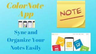 Note Taking Made Easy Using the ColorNote App-Tutorial screenshot 3