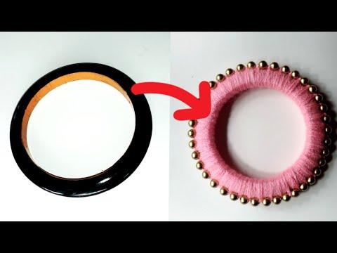 DIY - Old Bangle reuse idea | Best craft idea...