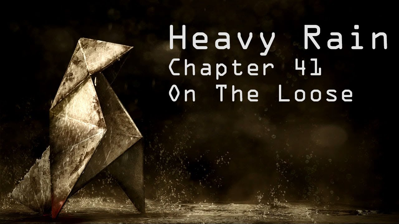 Download Heavy Rain Original for Playstation 3 Chapter 41 On The Loose Walkthrough - No Comment
