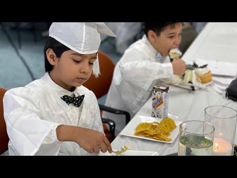 Alhamduillah #1st grade graduation party ?!!Reviver Academy Certificate Ceremony !????????