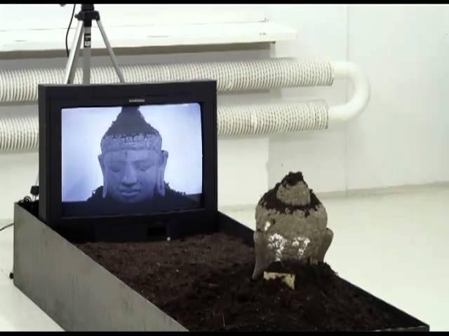 Audioguide Tv Buddha Nam June Paik Youtube