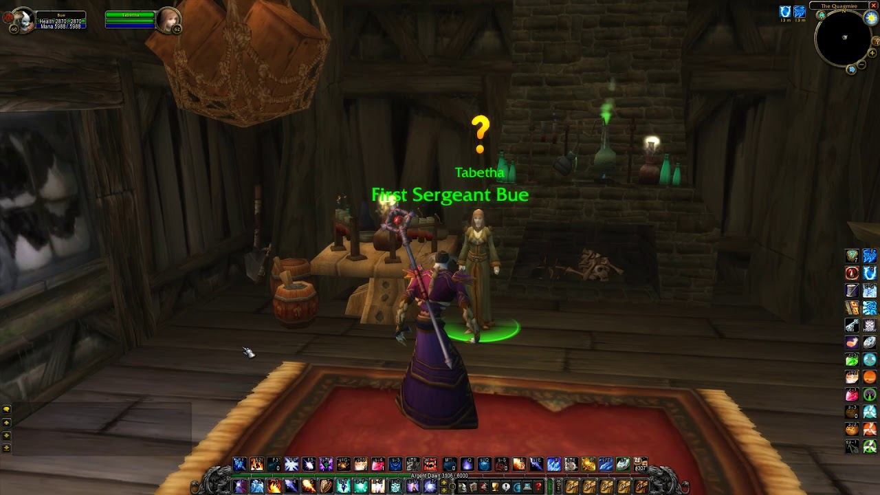 Mage's Wand (Mage) WoW Classic