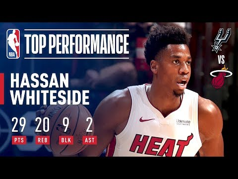 Hassan Whiteside With A Monster Performance! 29 Pts 20 Rebs 9 Blks! | November 7, 2018
