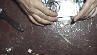 ремонт видеокарты на паяльной станции телпа с прогревом феном ч.1(, 2016-05-07T16:25:49.000Z)