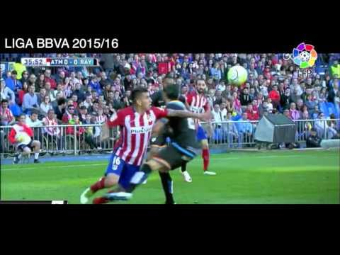 Gol de Antoine Griezmann vs Rayo Vallecano, Atlético de Madrid 1 - 0 Rayo Vallecano, Liga BBVA 2016