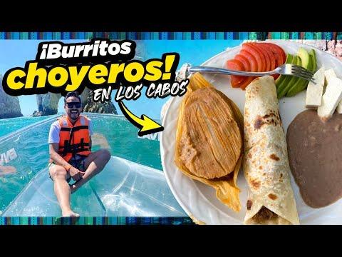 Deliciosos BURRITOS de Machaca, SASHIMI y muchos TACOS en CABO SAN LUCAS, BCS Vimos BALLENAS 🐋 🐳