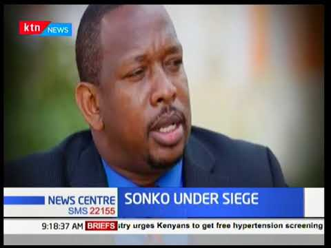 Nairobi Governor Mike Sonko under siege after the nomination of Lawyer Miguna as his Deputy