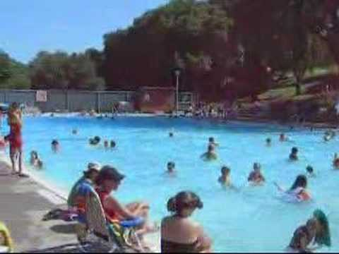 Hamilton Pool In Novato California May 26 2007 Youtube
