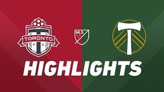 Toronto FC vs. Portland Timbers | HIGHLIGHTS - April 27, 2019