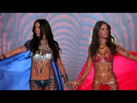 Alessandra Ambrosio and Adriana Lima - Victoria's Secret Fashion Show 2014.