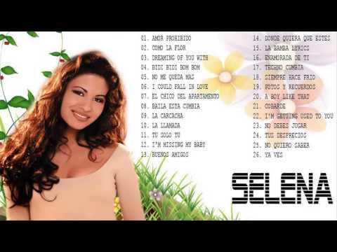 Selena Sus Mejores Éxitos Baladas Románticas - Exitos MIX