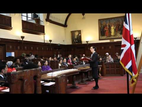 UK British citizenship ceremony in Coventry Council House 28 Jan 2015