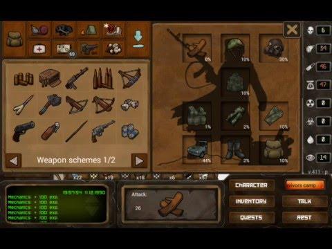 Day R survival Premium - Mechanics Level 7 Gameplay