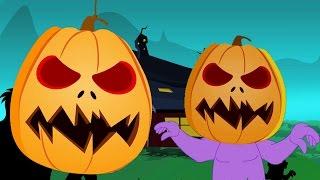 ジャックOランタン - 英語で歌、子供のための人気の動画, in Japanese.