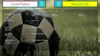 Retro Football Boss - Match Engine Demo