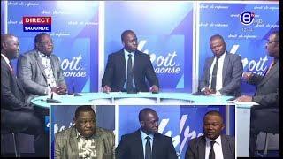 DROIT DE RÉPONSE DU 29/092019(DIALOGUE NATIONAL: L'avenir du Cameroun mis en jeu) ÉQUINOXE TV