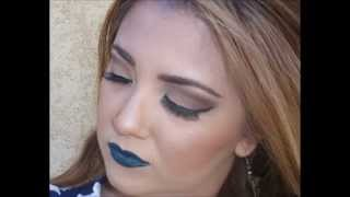 Green Lipstick with Eyeshadow options Thumbnail