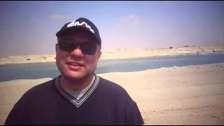 See the coolest Tomb citizen in the new Suez Canal in Easter
